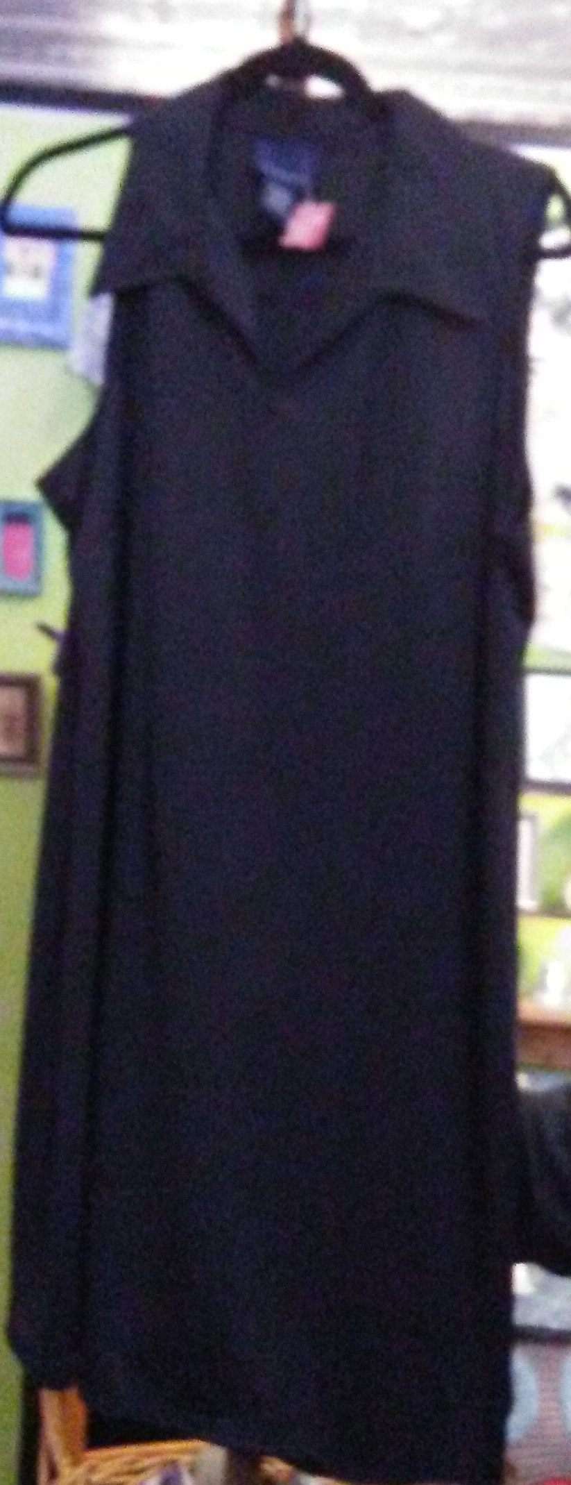 Superstar Universe, LLC Vintage Venezia 18/20 black sleeveless work/party dress WITH FREE SHIPPING