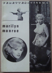 1962 French France Vedettes du Cinema Magazine Marilyn Monroe Cover Vintage Old