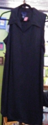 Superstar Universe, LLC Vintage Venezia 18/20 black sleeveless work/party dress WITH FREE SHIPPING