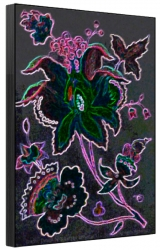Superstar Universe, LLC TItled Victorian Gothic Flowers 12 x 18 1/100 Signed and Numbered Print