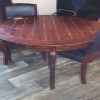 Superstar Universe, LLC Project Dining Table and Two Chairs