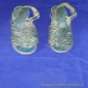 Superstar Universe, LLC Rare Vintage Women's Green Leather Qualicraft Casualets Wedge Sandals Size 6B